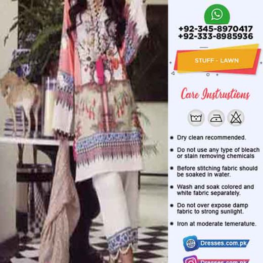 Sana Safinaz Latest Lawn Dress