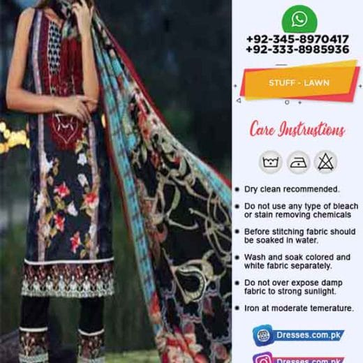 Sanoor Lawn Collection 2019