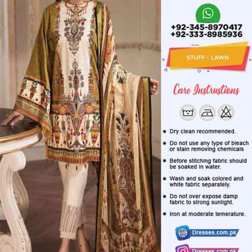 Aayra Latest Lawn Collection 2019