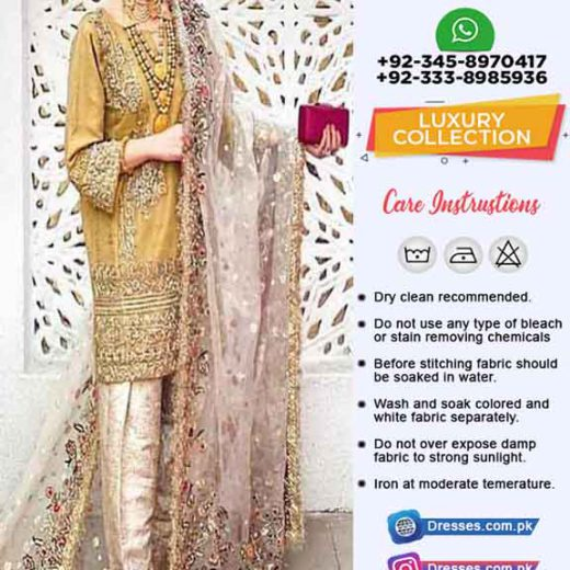 Al Haram Latest Luxury Dresses