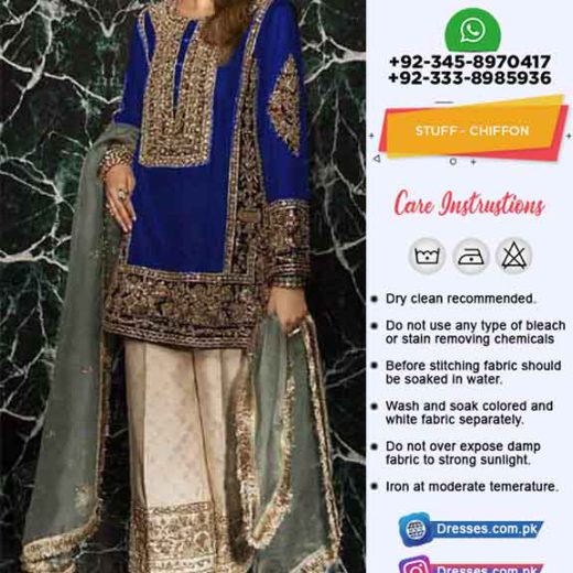 Elan Latest Chiffon Collection 2019