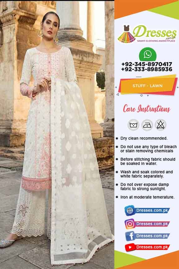 Maria B Latest Lawn Dresses 2019