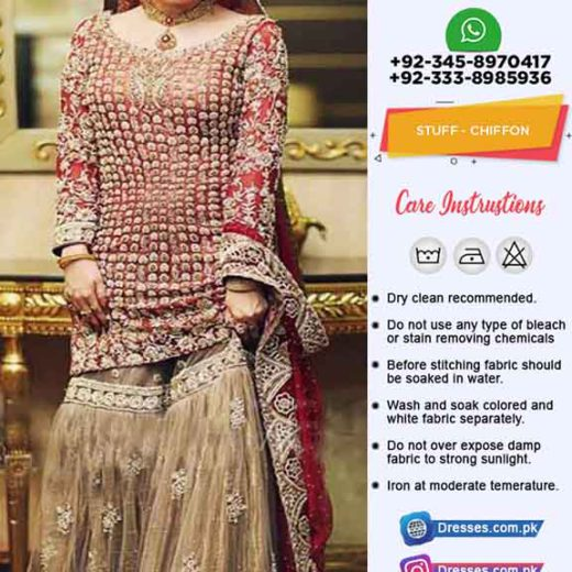 Pakistani Latest Bridal Dresses 2019