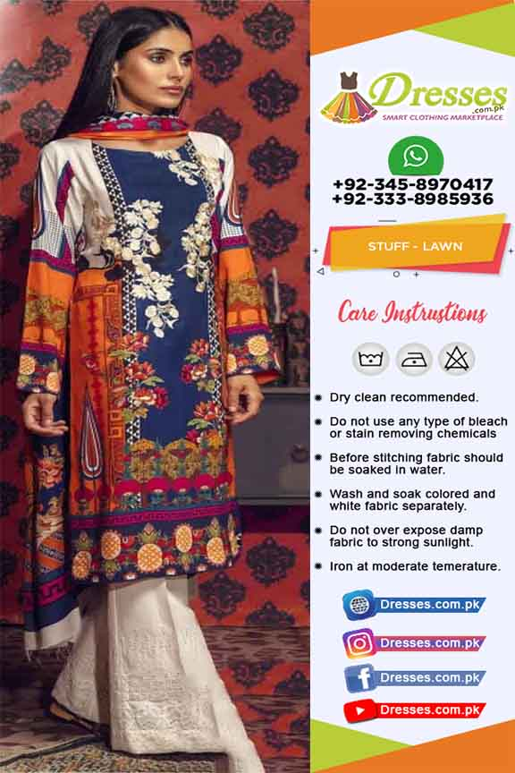 Raj Bari Lawn Summer Collection