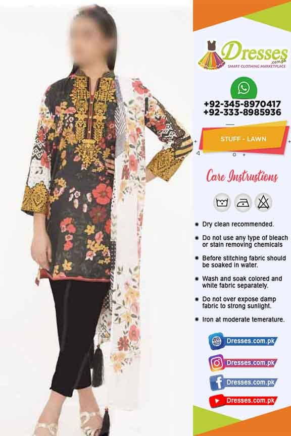 Sapphire Lawn Collection 2019