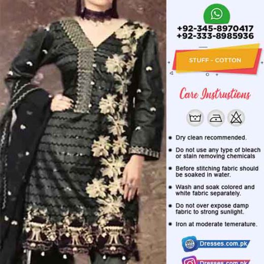 Anus Abrar Cotton Eid Dresses