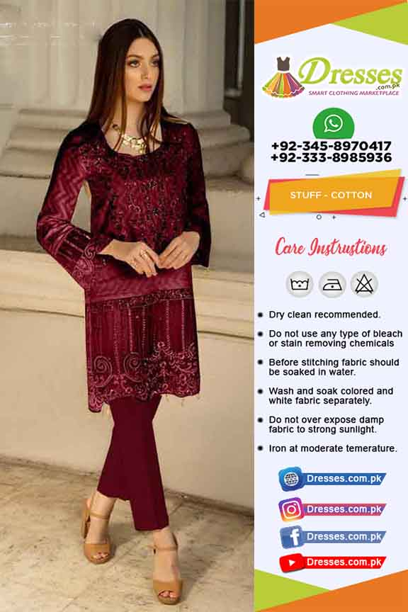 Azure Winter Eid Dresses 2019