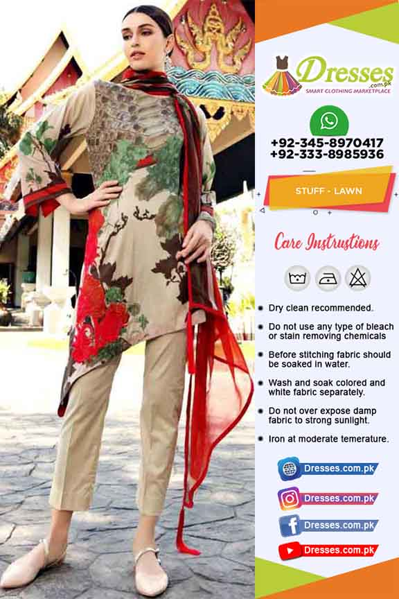 Charizma Lawn Eid Collection