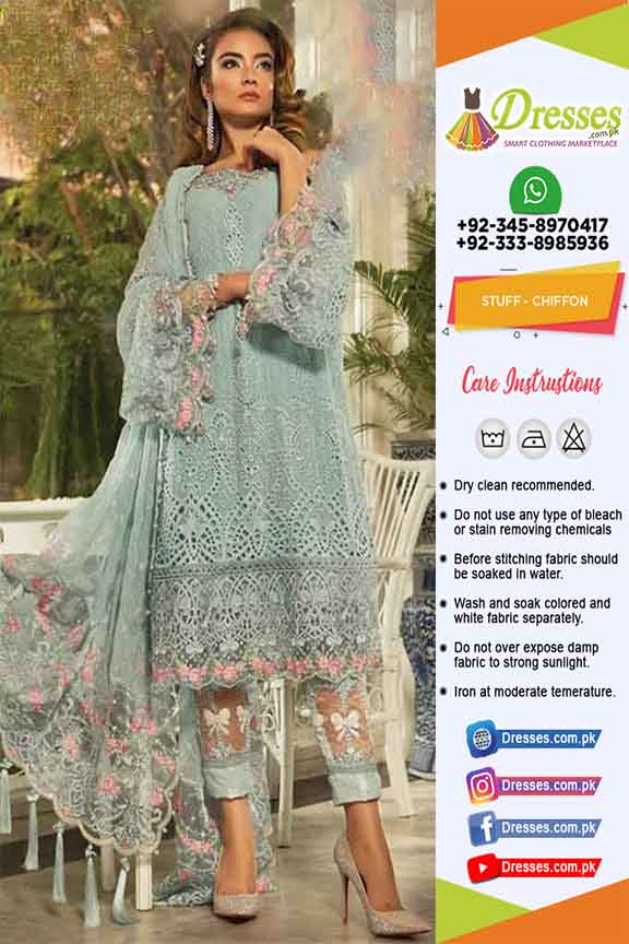 Maria B Chiffon Eid Collection 2019