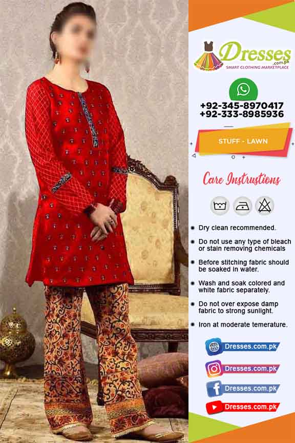 Pakistani Lawn Dresses 2019