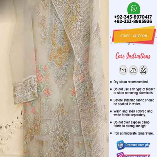 Agha Noor Chiffon Dresses Online