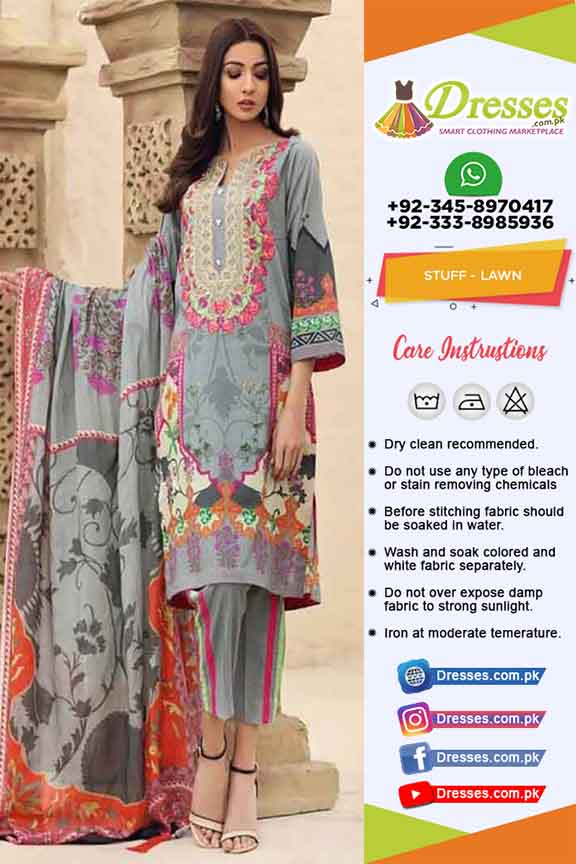 Charizma Lawn Dresses Collection