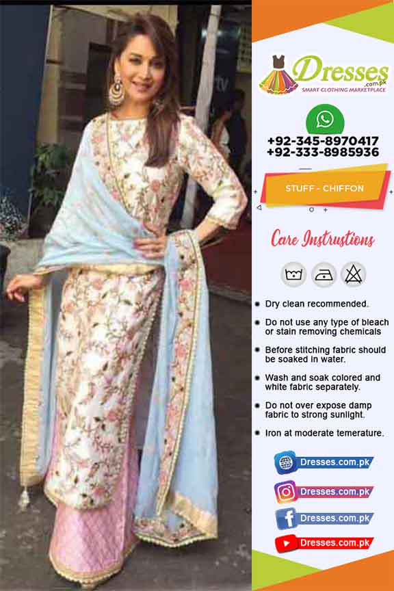 Indian Chiffon Dresses Collection