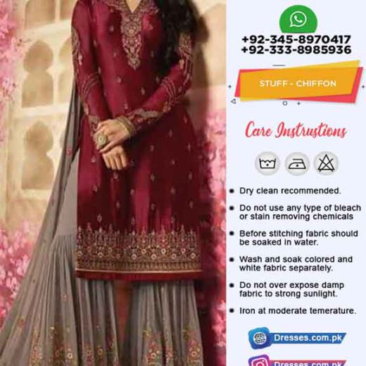 Indian Chiffon Dresses Online 2019