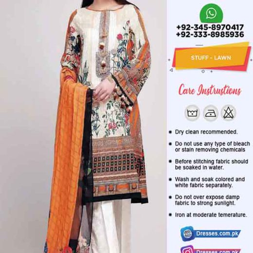 Khaadi Latest Lawn Collection 2019