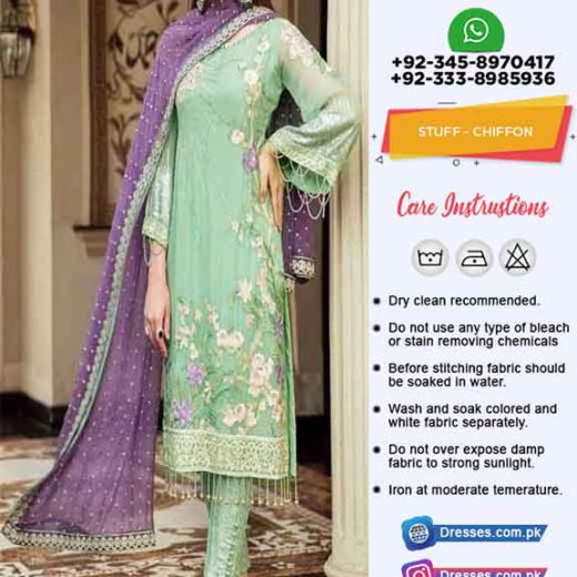 Afrozeh eid chiffon collection online