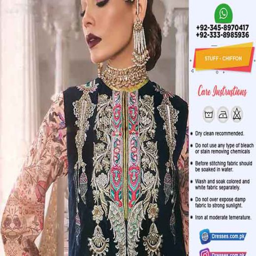 Anaya by Kiran Chaudhry Chiffon Dress
