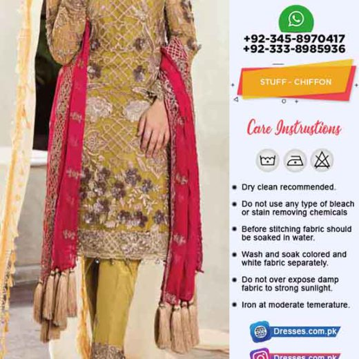 Imrozia chiffon eid collection 2019