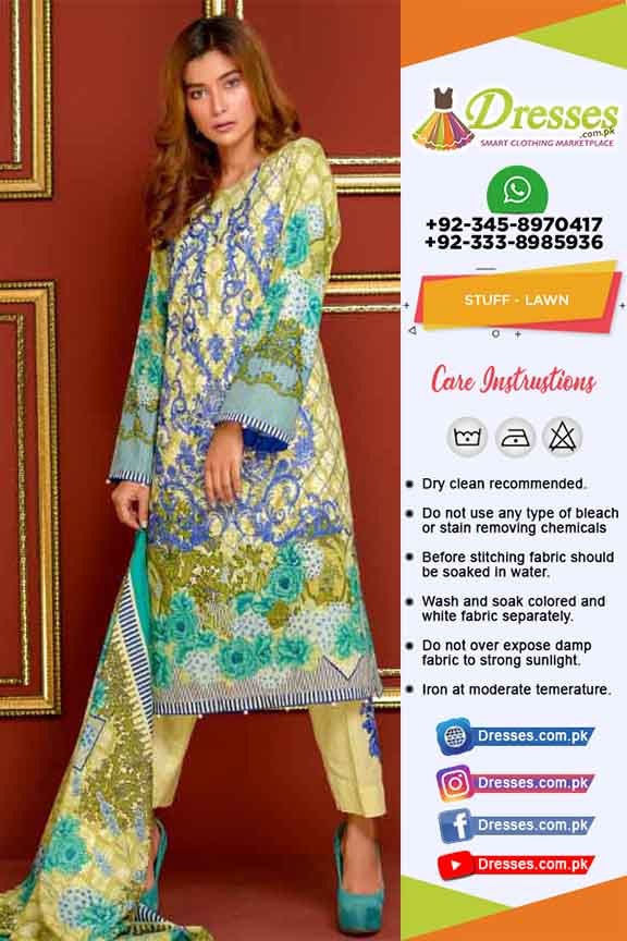 Khaadi Latest Lawn suit