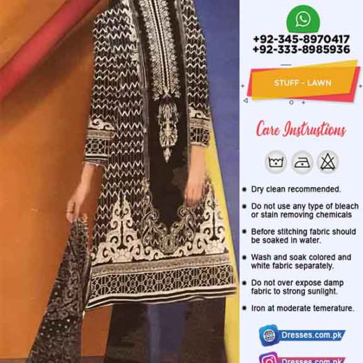 Gul Ahmed Latest Lawn Dresses
