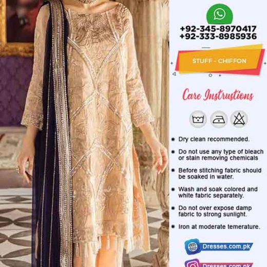 Imrozia Latest Chiffon Dresses 2019