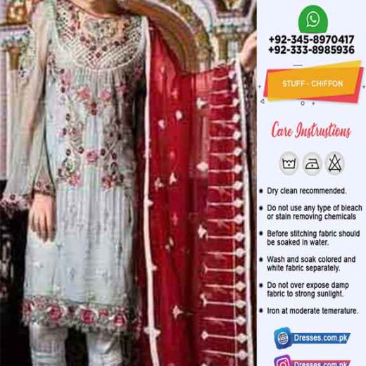 Maryums Latest Chiffon Dresses 2019