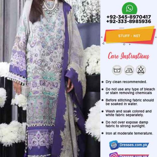 Sana Safinaz Net Collection 2019