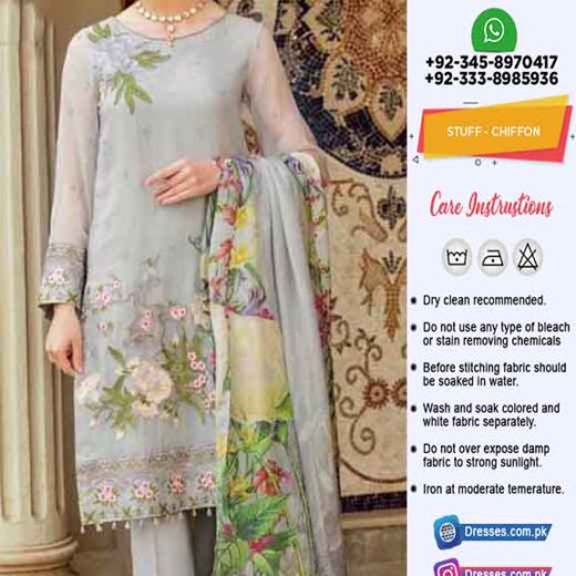 Afrozeh Latest Chiffon Clothes 2019