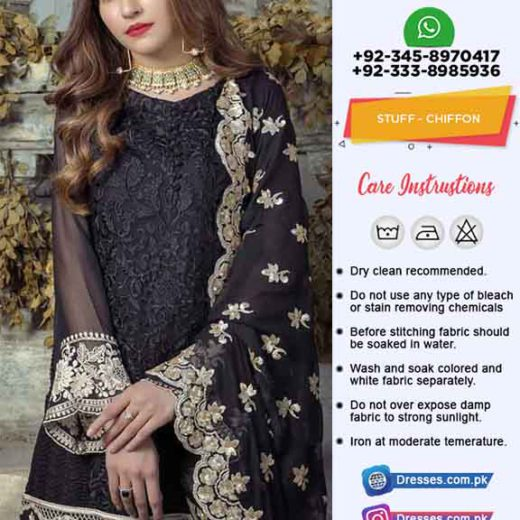 Agha Noor Chiffon Collection 2019