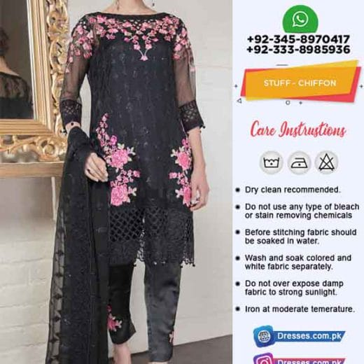Gulal Latest Chiffon Dresses Online