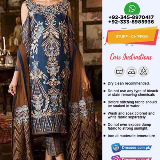 Iznik Latest Chiffon Collection 2019