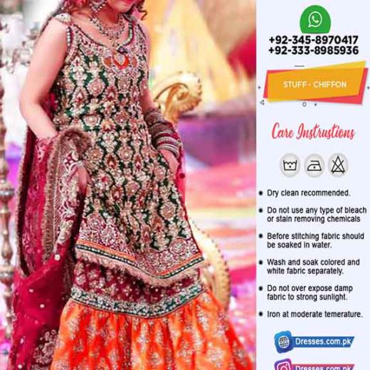 Kashees Latest Bridal Gharara Online