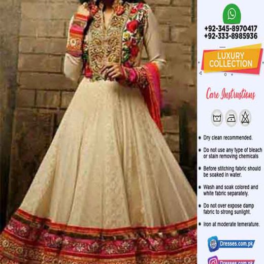 Pakistani Latest Frock Collection
