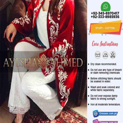 Ayesha Ahmed Cotton Dresses 2020