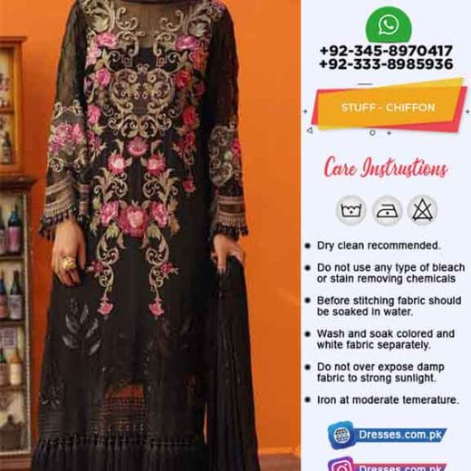 Gul Ahmad Chiffon Collection 2019