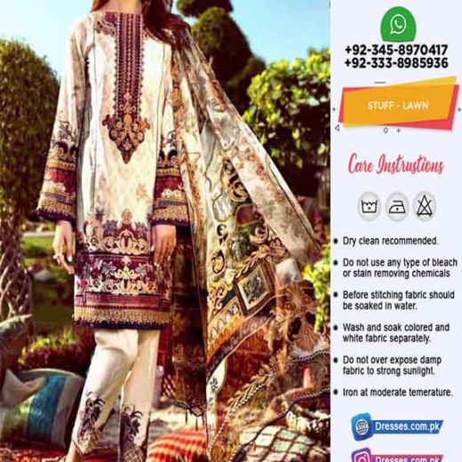 Jazmin Latest Lawn Collection 2019