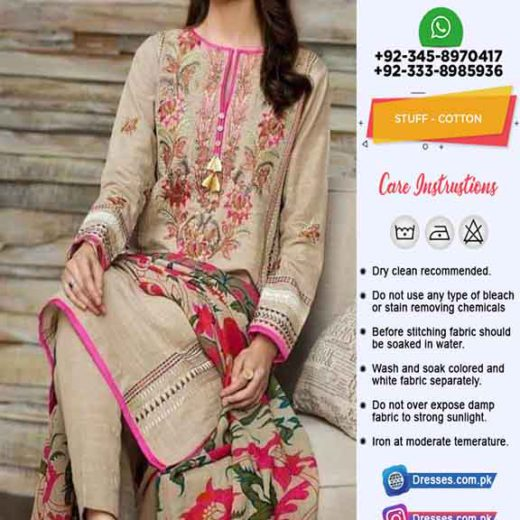 Khaadi Cotton Dresses Clothes 2020