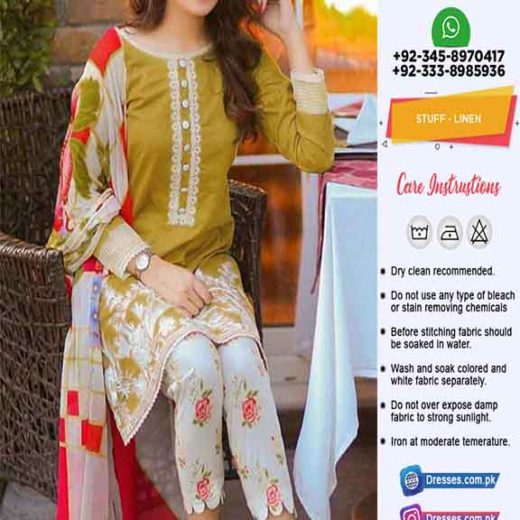 Maria B Linen Collection 2019