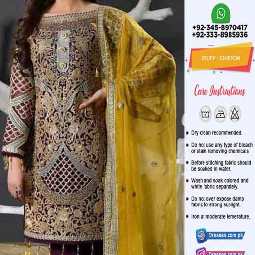 Maryam N Maria Bridal Dresses 2020