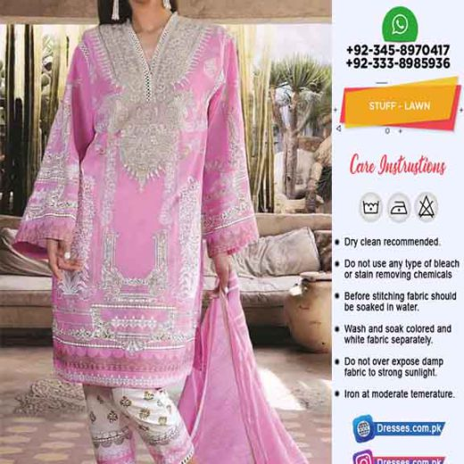 Sana Safinaz Lawn Dress Shopping