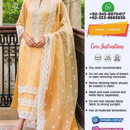 Zainab Chottani Latest Dresses 2019
