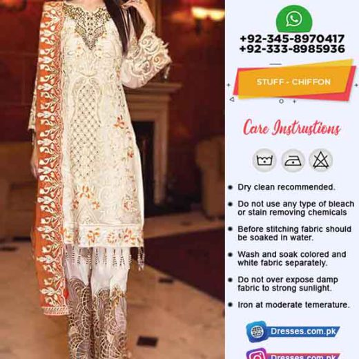 Zebtan Latest Chiffon Clothes 2019