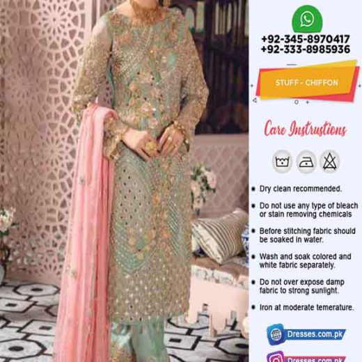 Afrozeh Latest Chiffon Dresses 2020