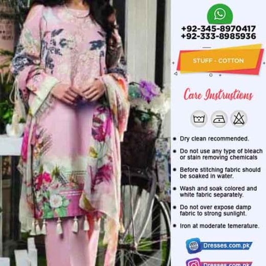 Firdous Cotton Collection 2020