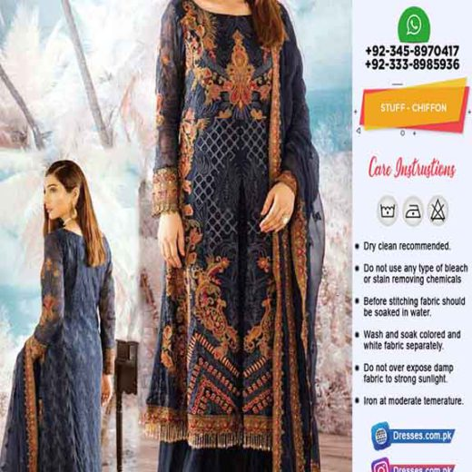 Iznik Latest Chiffon Collection 2020