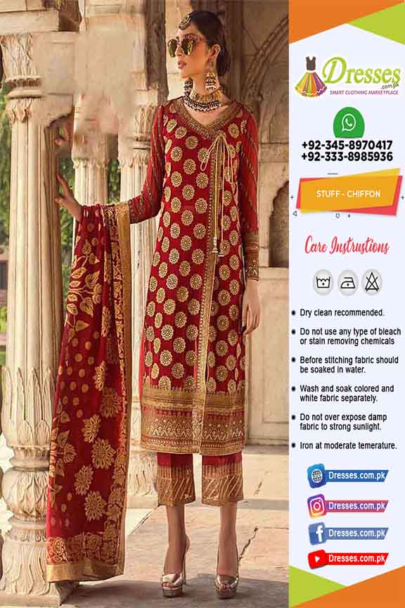 Zainab Chottani Wedding Clothes Online