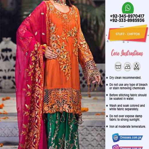 Zebtan Wedding Chiffon Collection