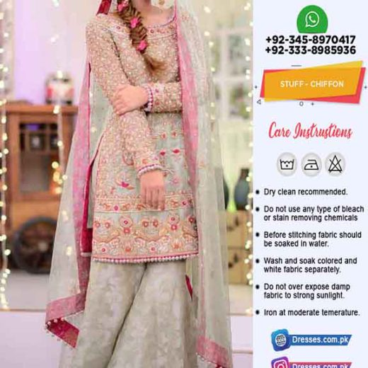 kashees Wedding Chiffon Collection