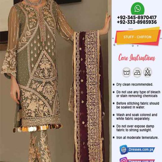 AL Haram Latest Chiffon Clothes