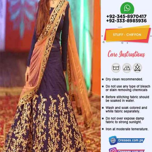 Atif Riaz Wedding Frock Collection